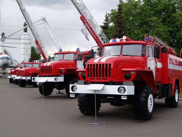 Интересные факты о пожарных машинах