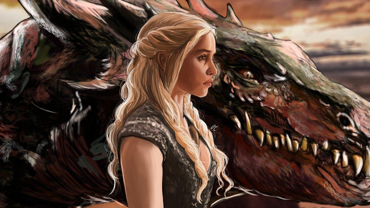 Драконы из сериала Игра престолов