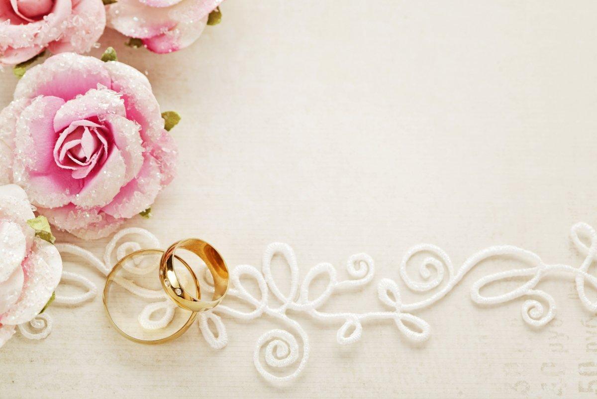 Фон для пригласительных на свадьбу