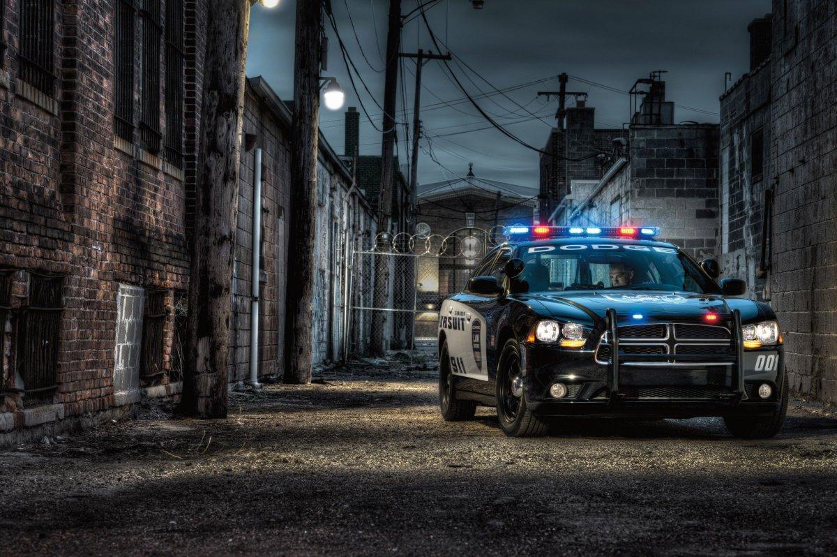 Фоны с полицией