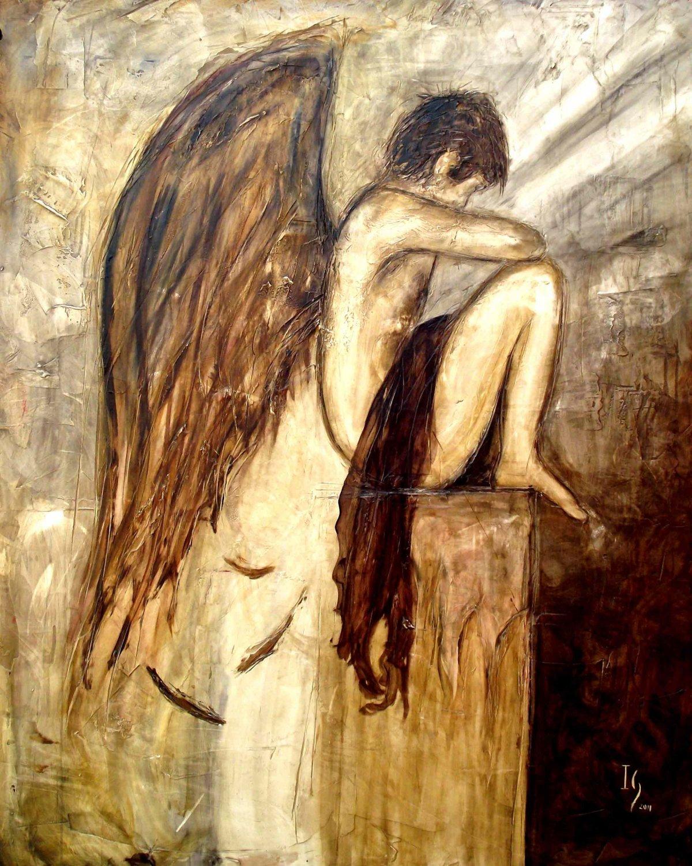Ангел маслом