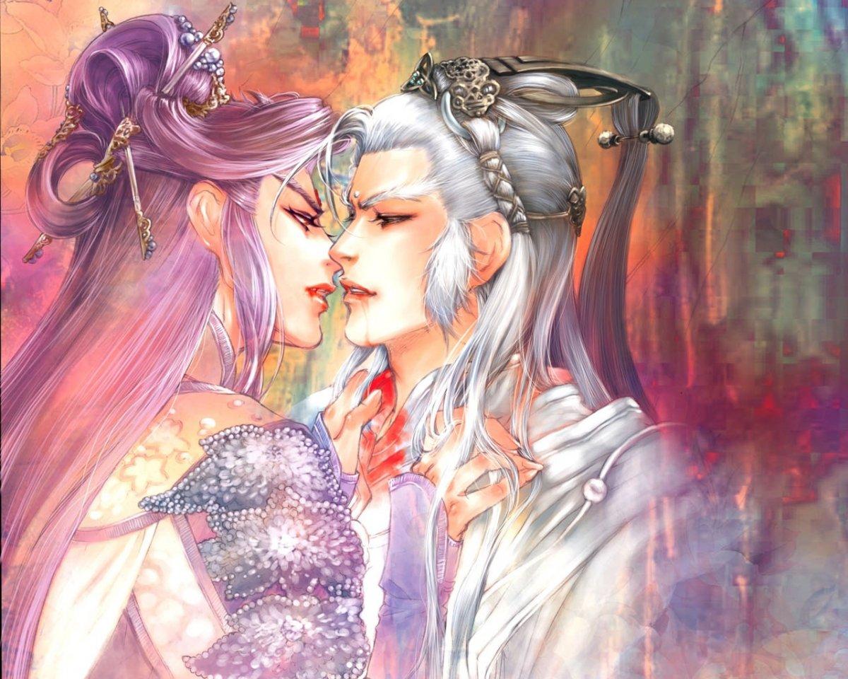 Аниме про эльфов и любовь к человеку