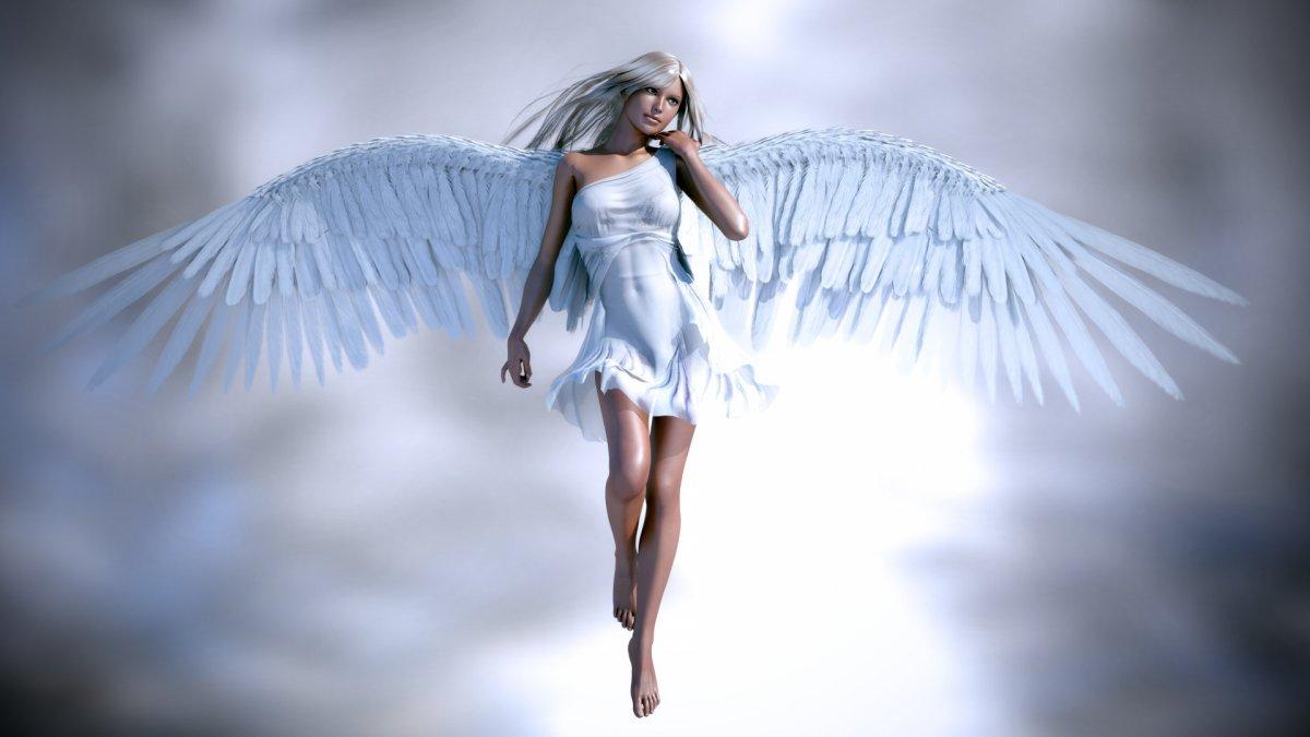 Ангел девушка