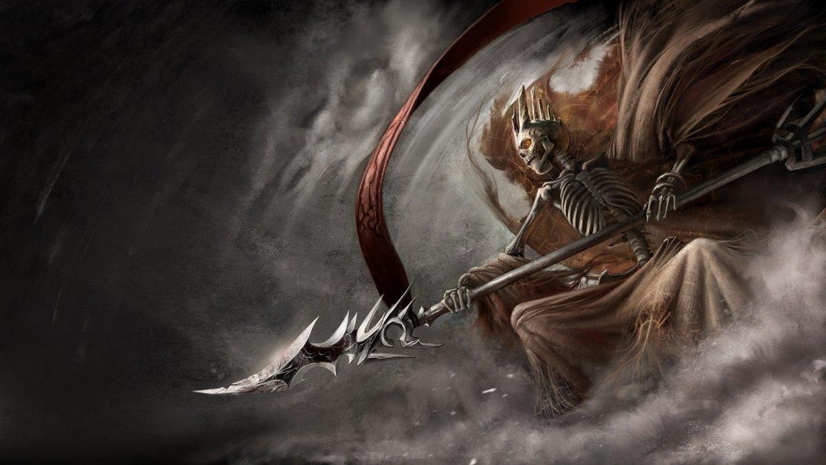 Воин скелет