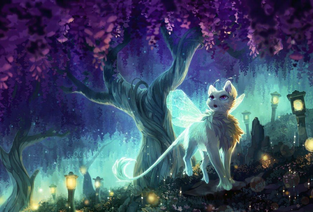 Мистические кошки