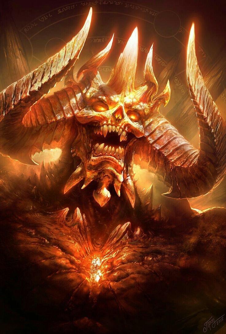 Ахерон демон