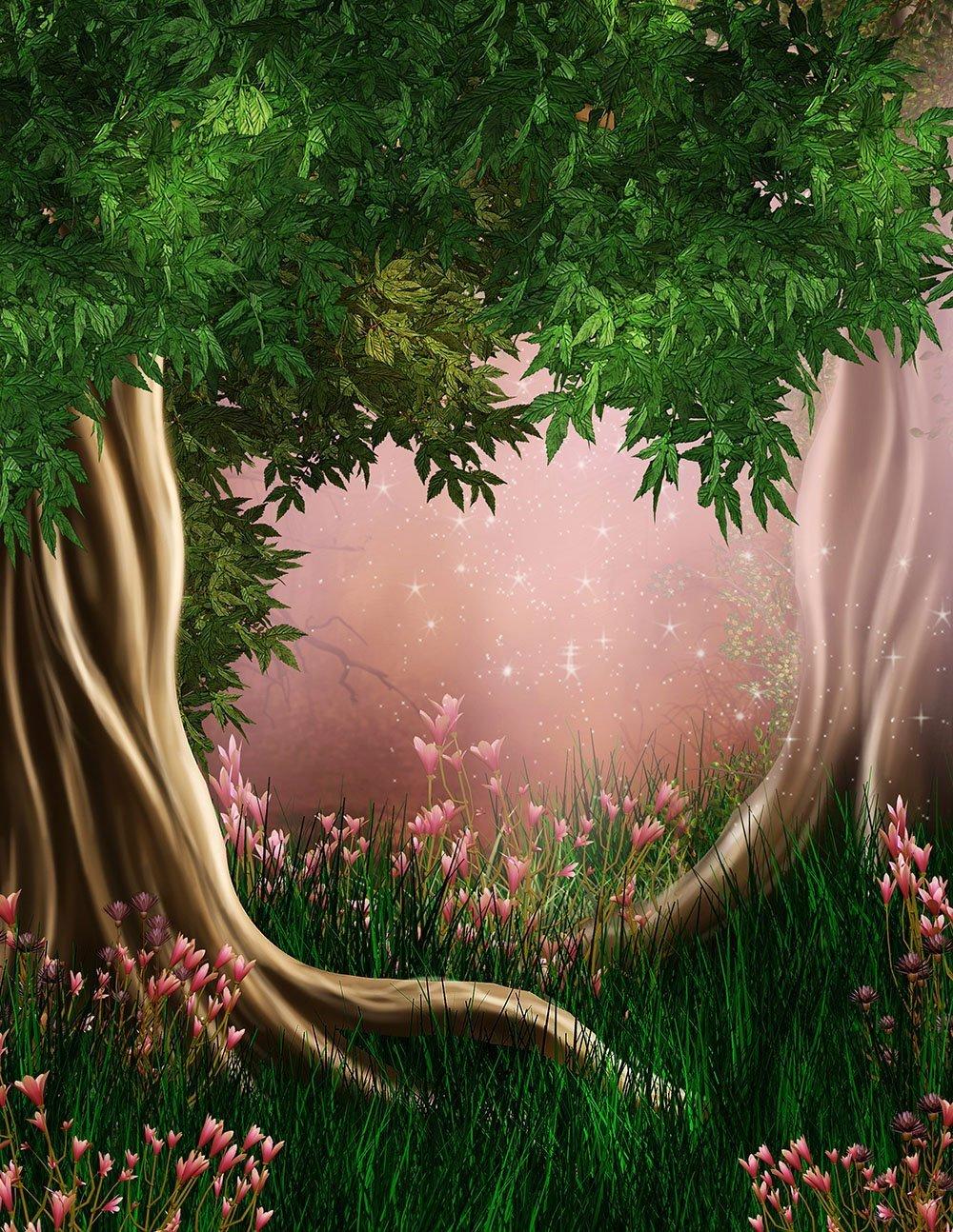 Мультяшный лес