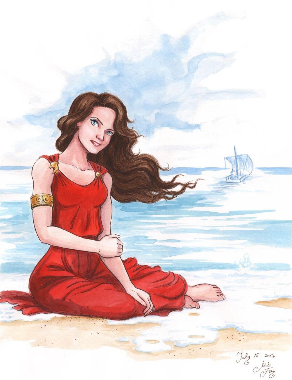 Калипсо богиня