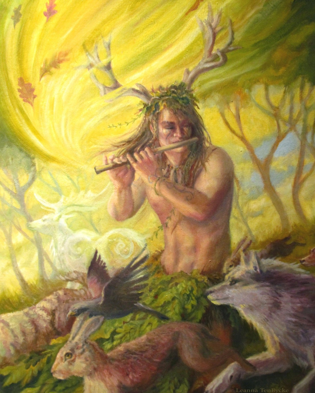 Бог леса