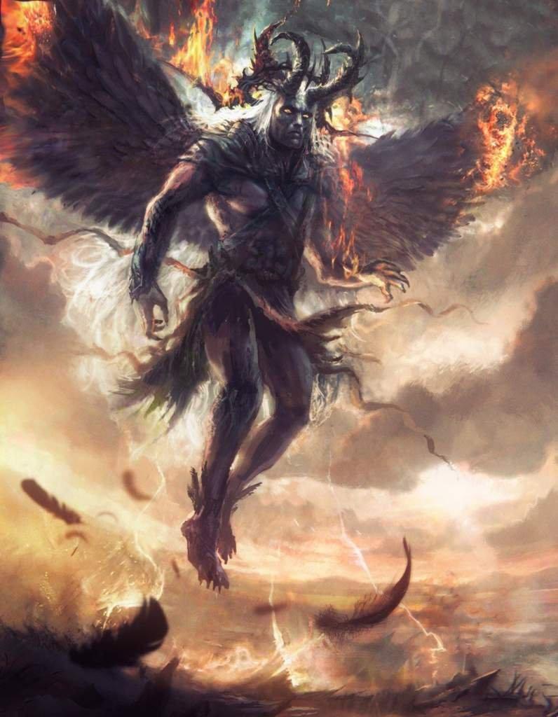 Падший демон