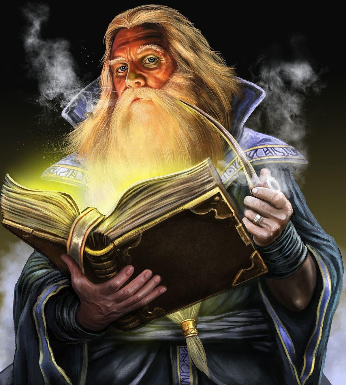 Маг волшебник чародей