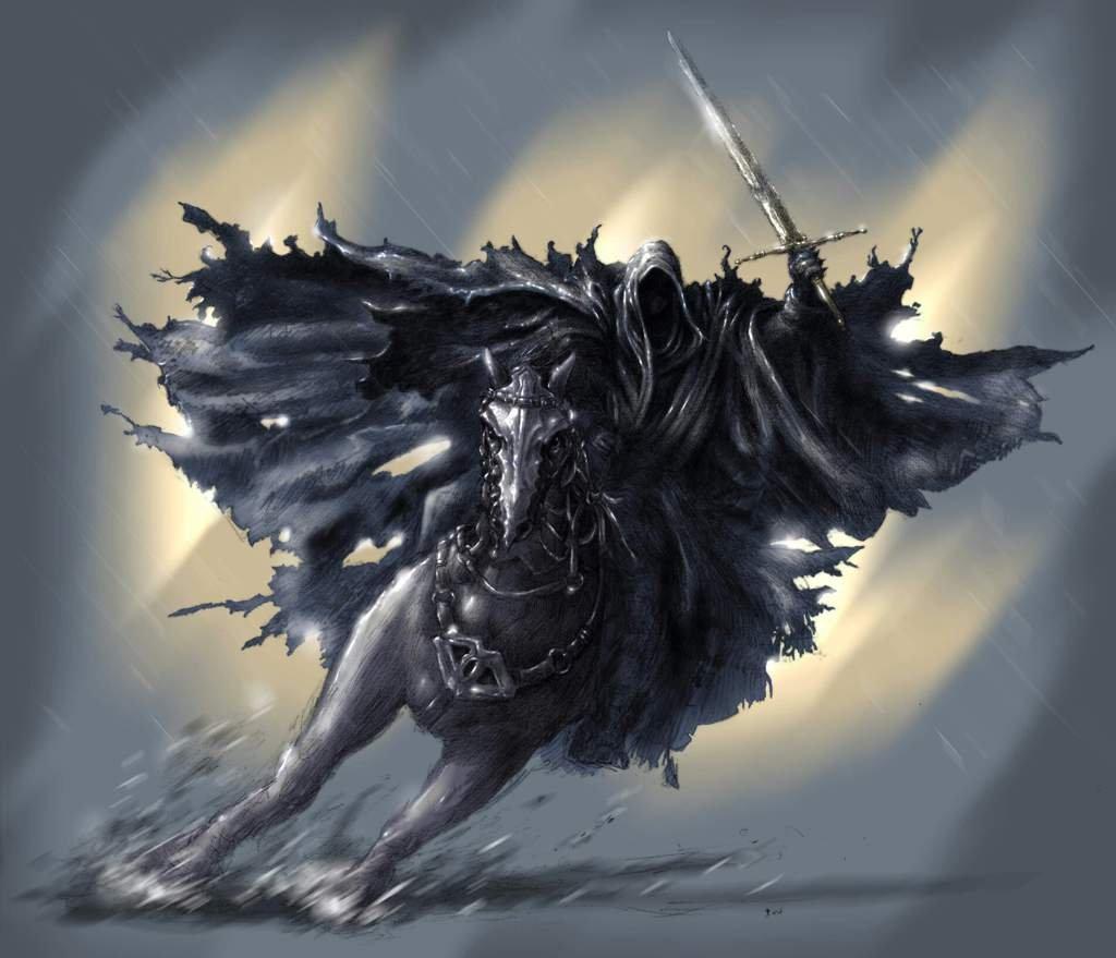 Темный всадник