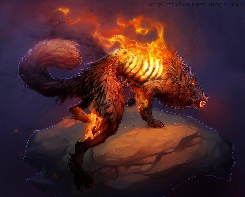 Огненная собака