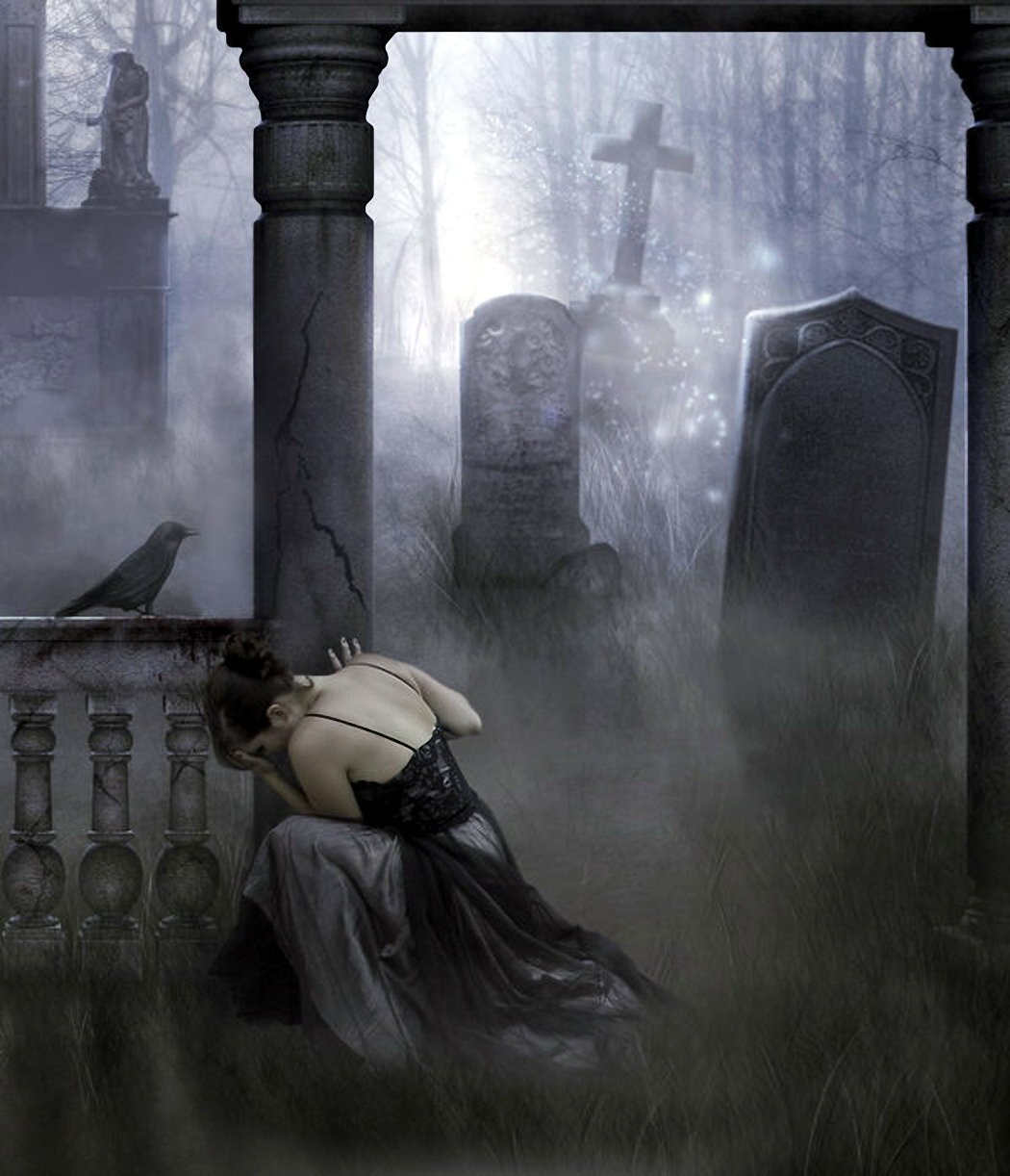 Готическое кладбище