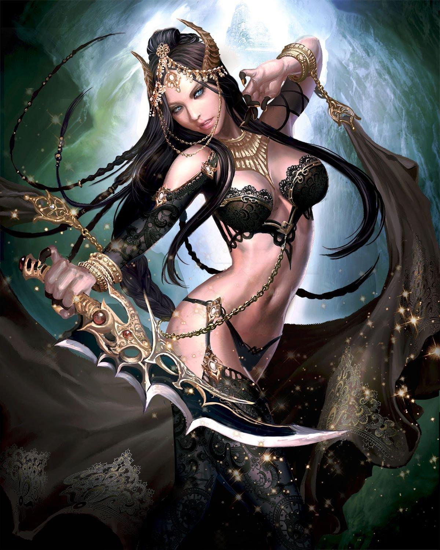 Эльфийка рабыня