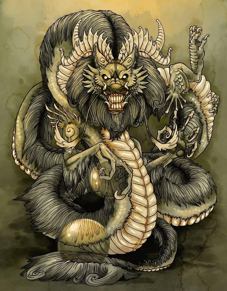 Азиатский дракон