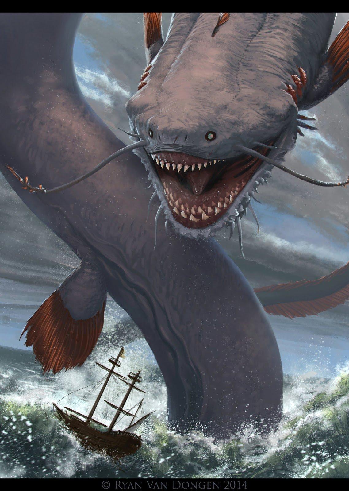 Левиафан монстр