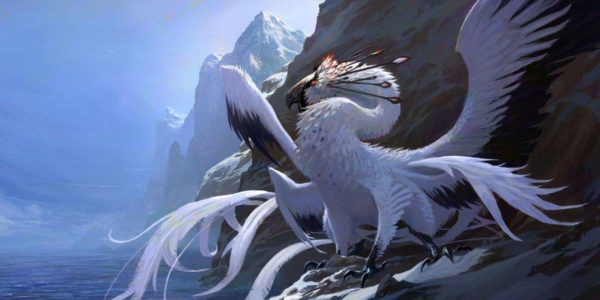 Птица дракон