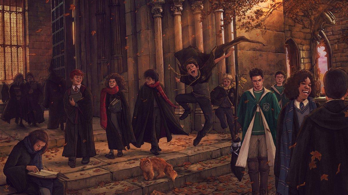 Гарри Поттер школа Хогвартс