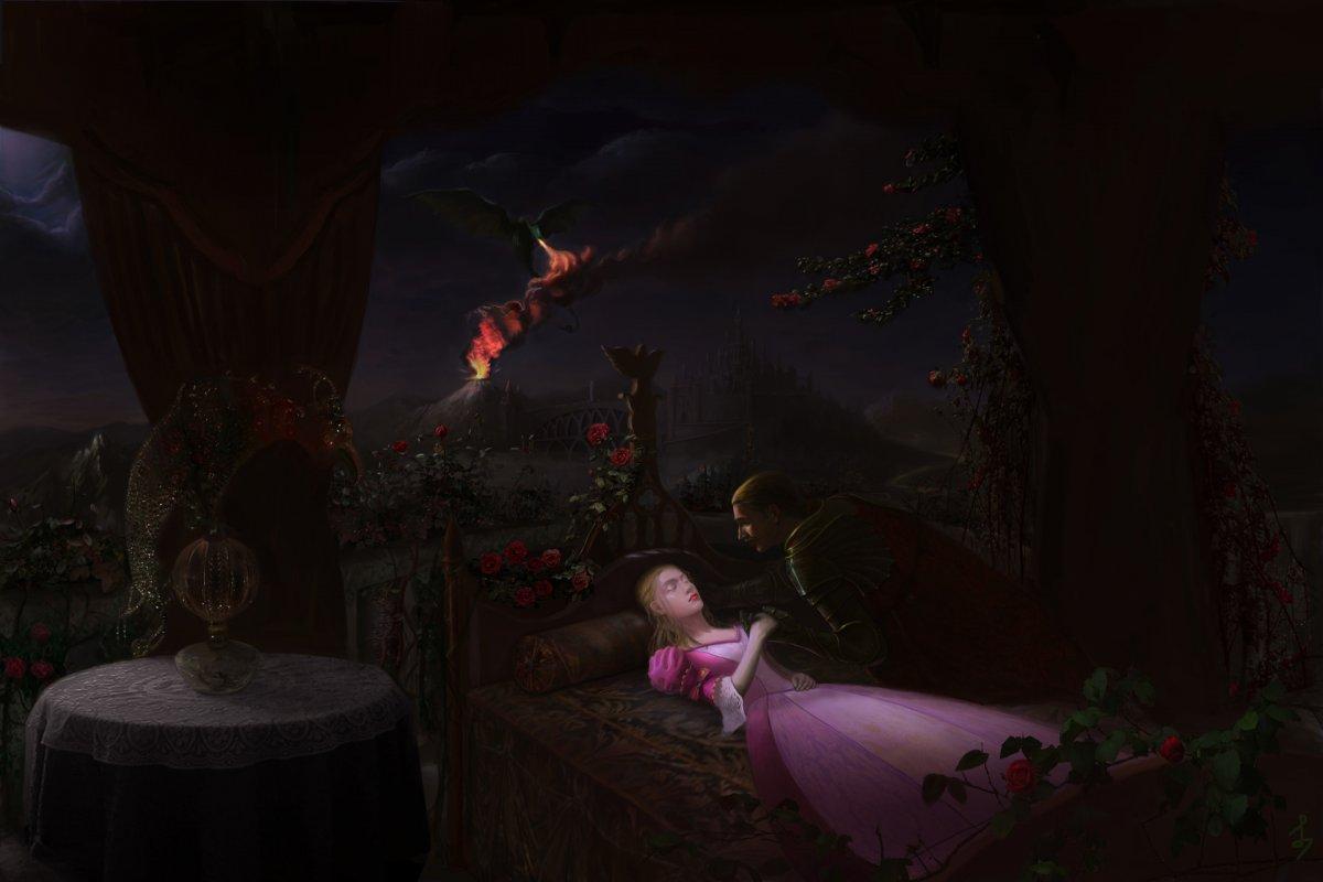 Спящая ведьма