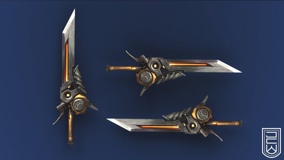 Пластинчатый меч