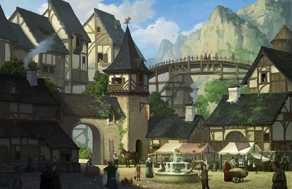 Деревня арт