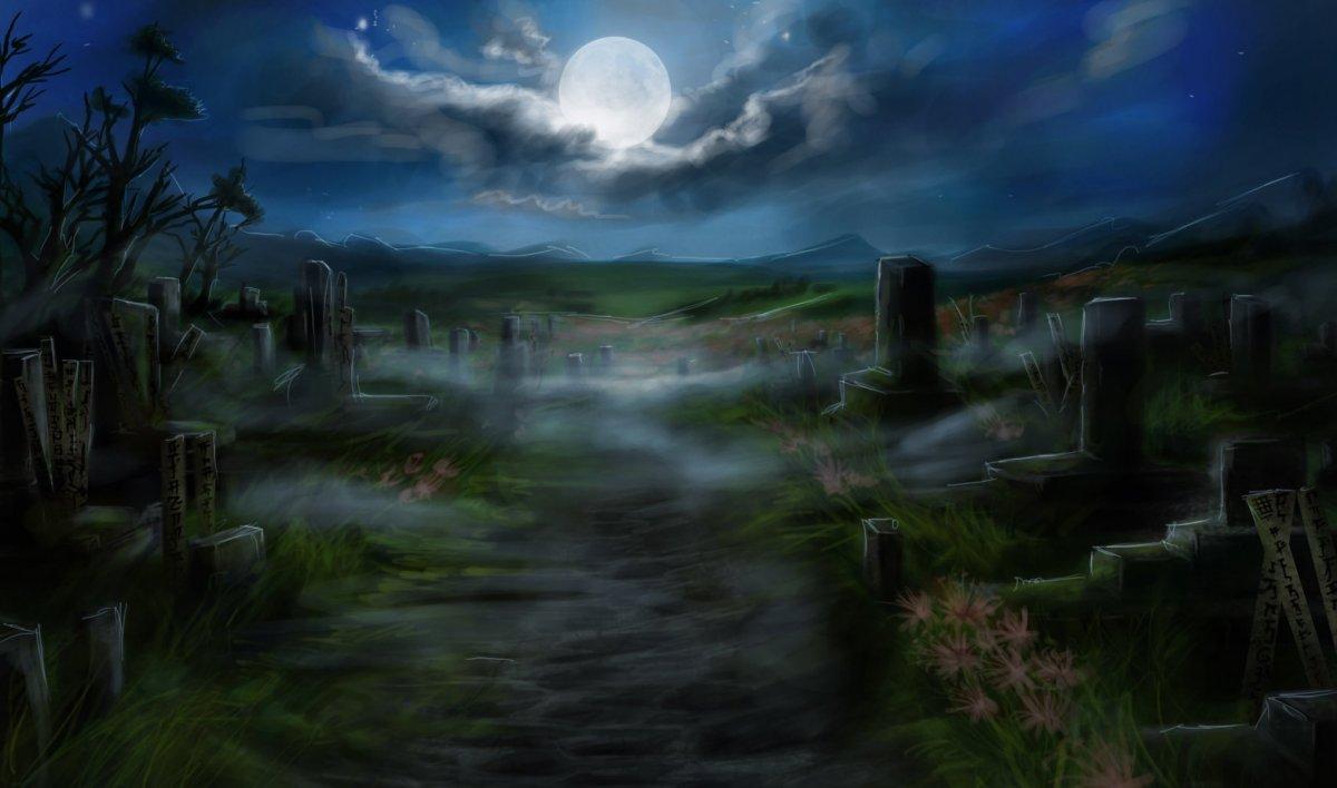 Кладбище арт