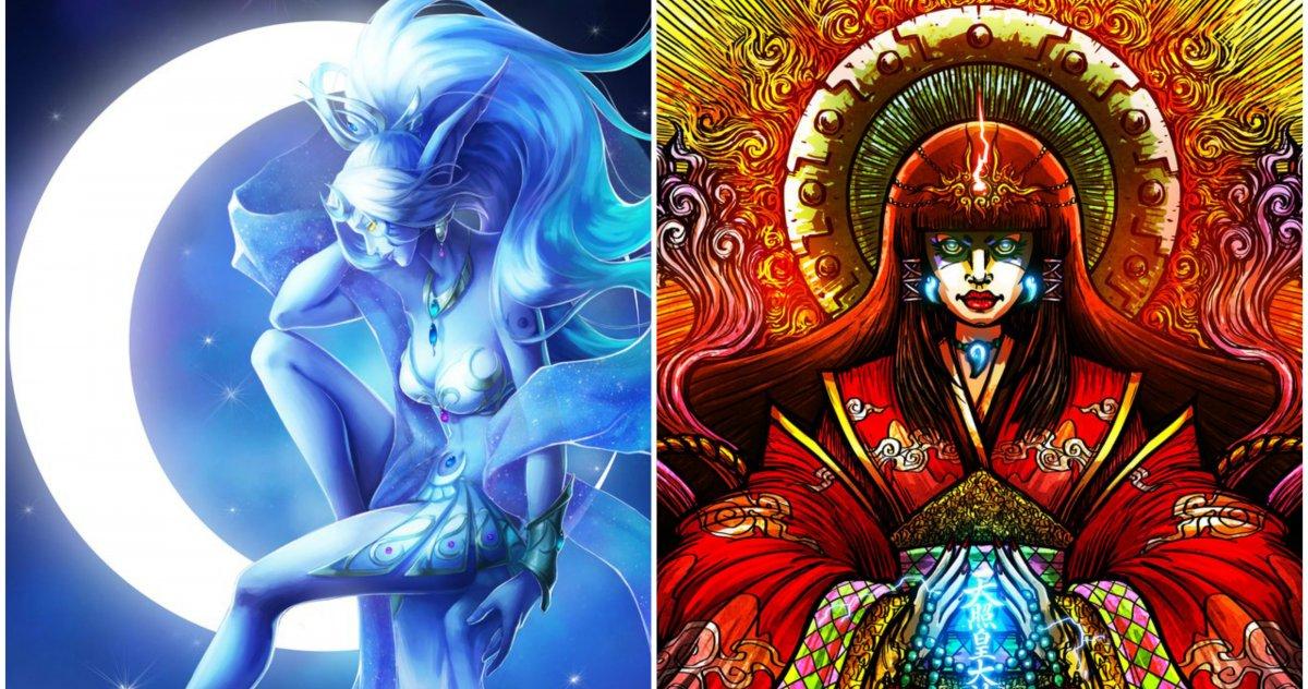 Аматэрасу богиня солнца