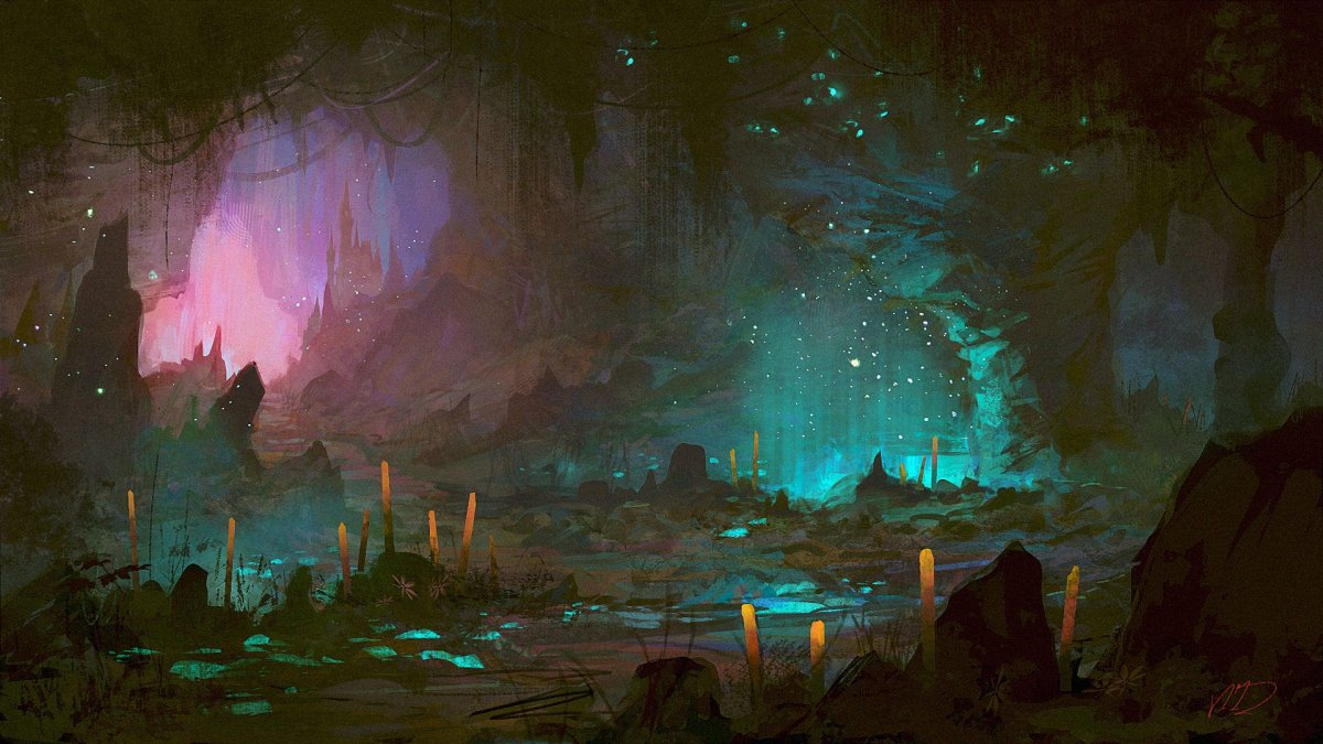 Пещера арт