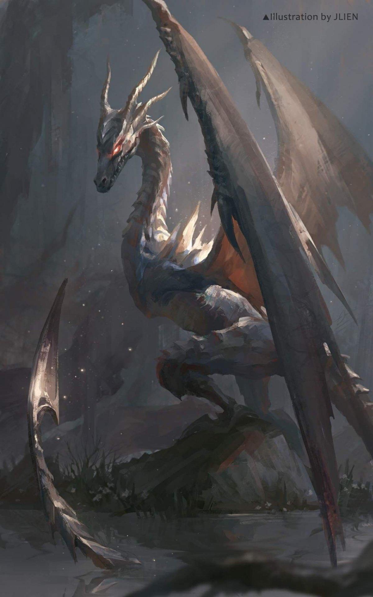 Дракон виверна