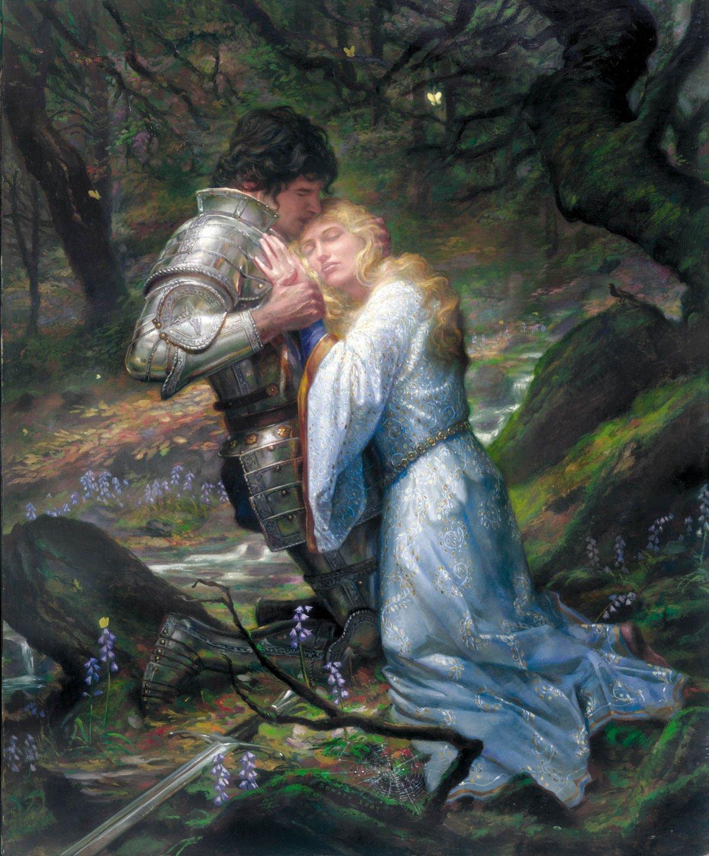 Рыцарь и дама