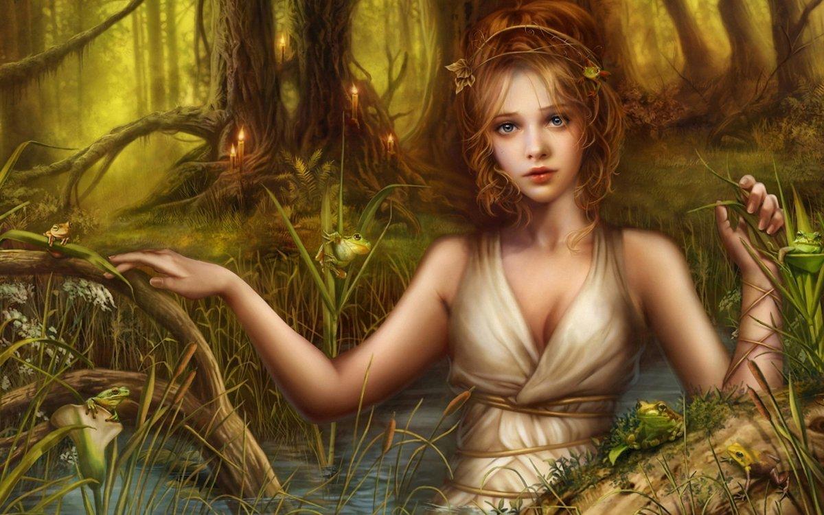 Сказочная девочка