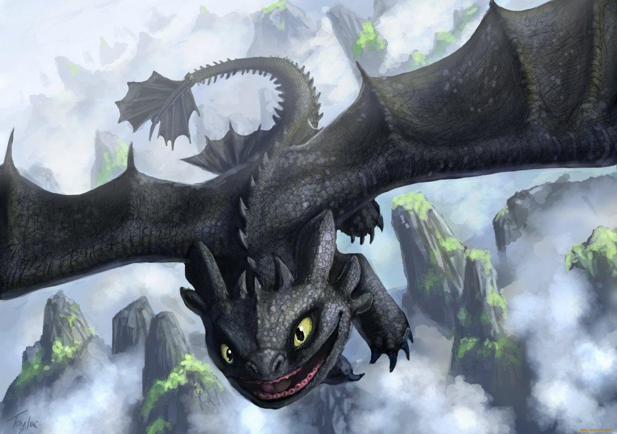 Как приручить дракона драконы