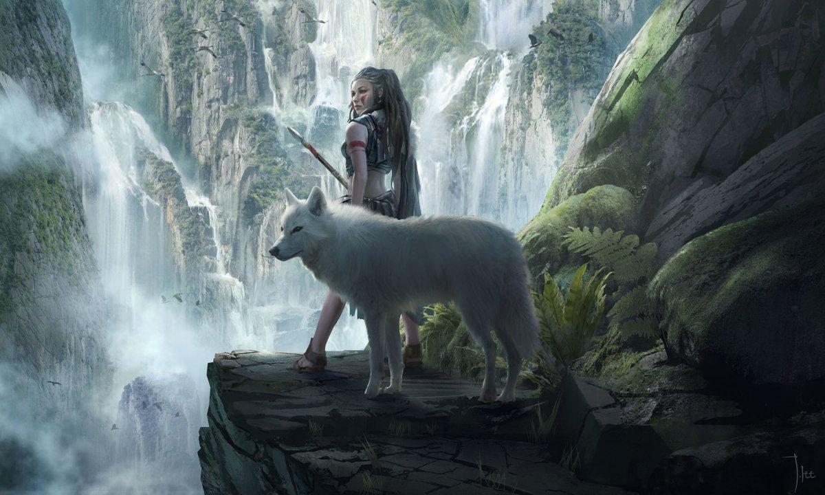 Девушка и зверь