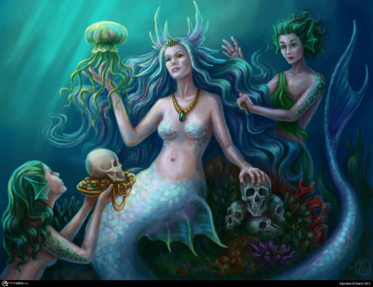 Морская богиня