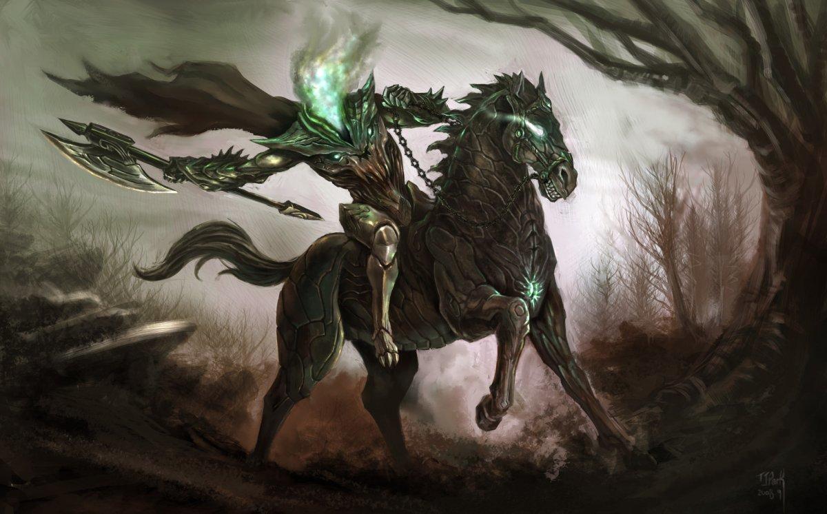 Абигор демон всадник