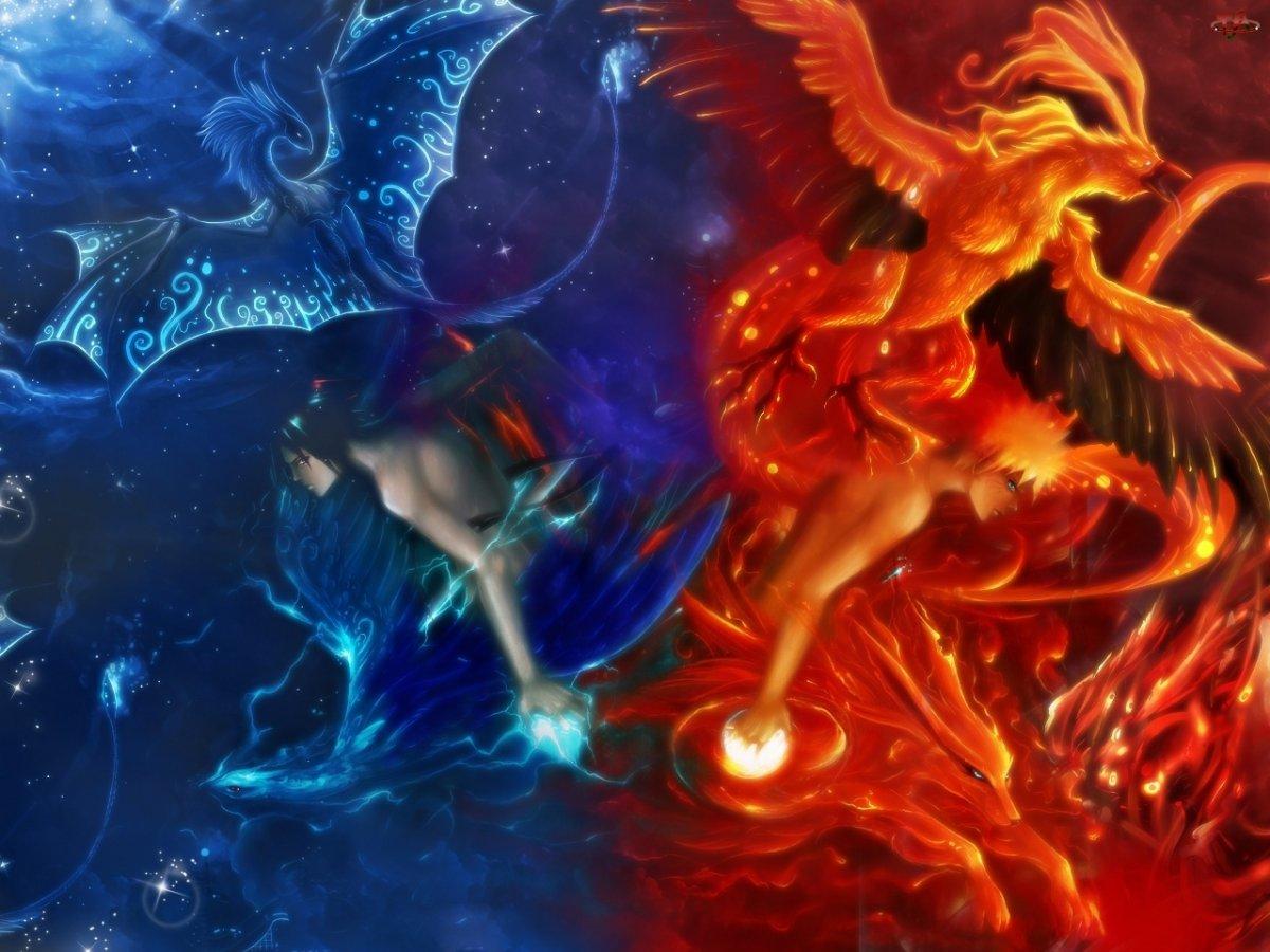 Огонь и вода любовь