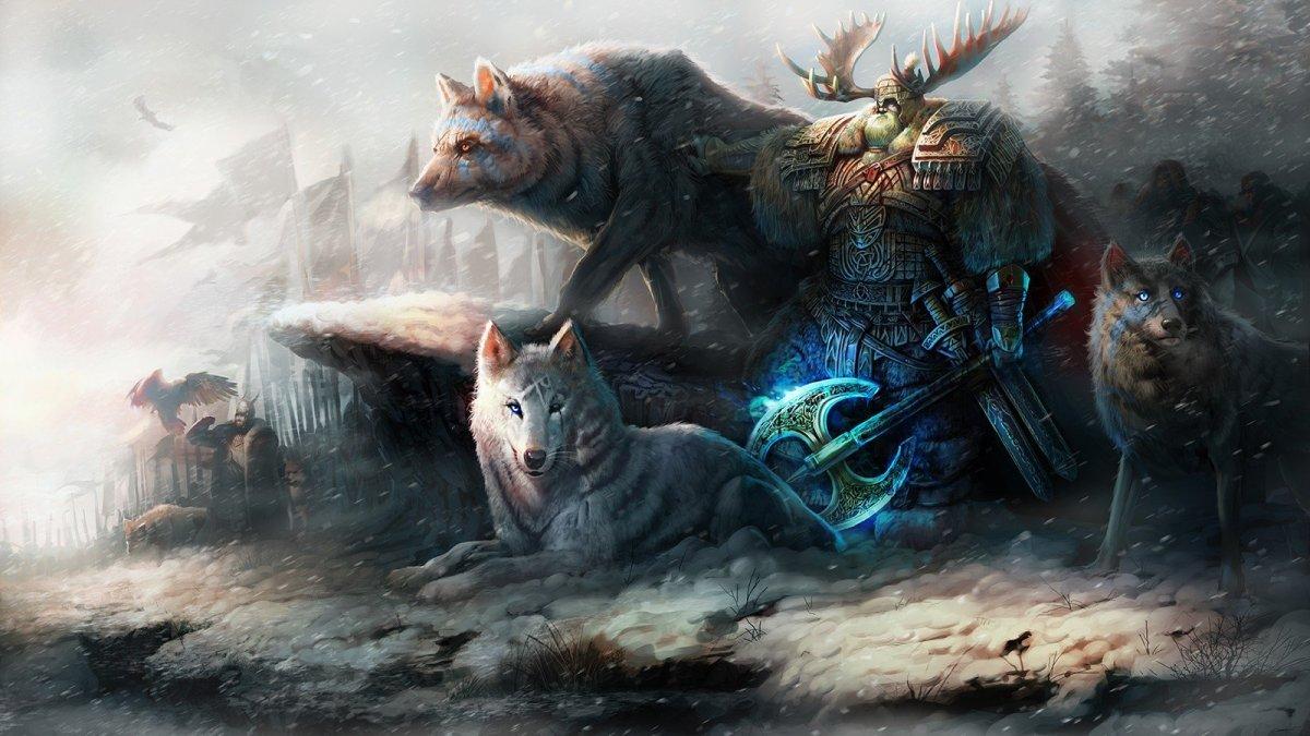 Волк воин