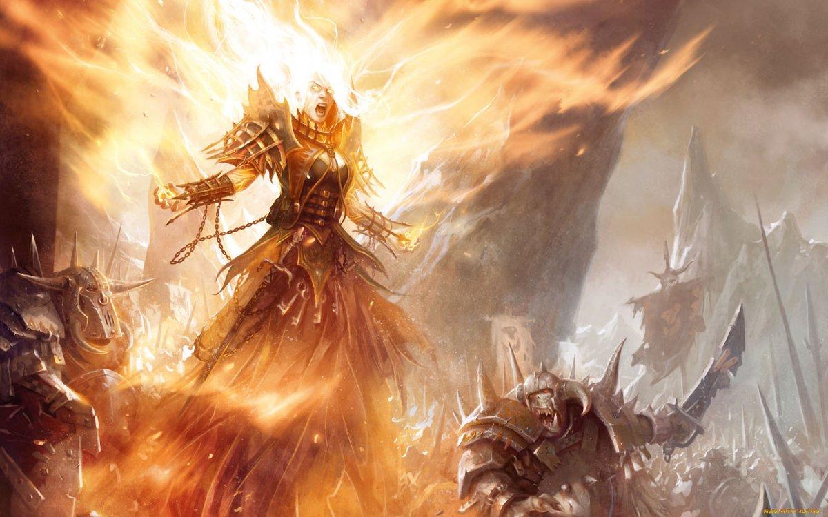 Воин огня