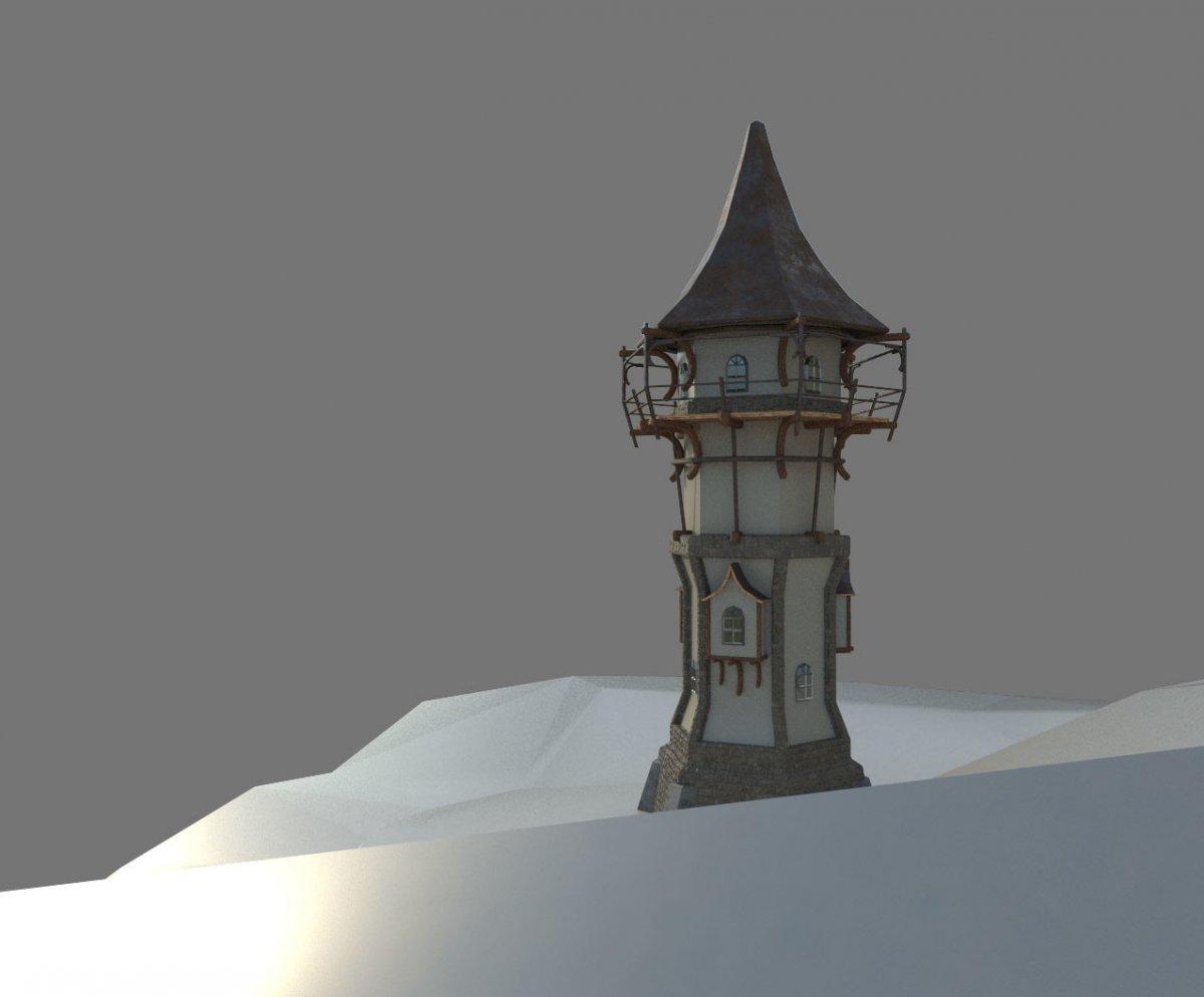 Башня мага