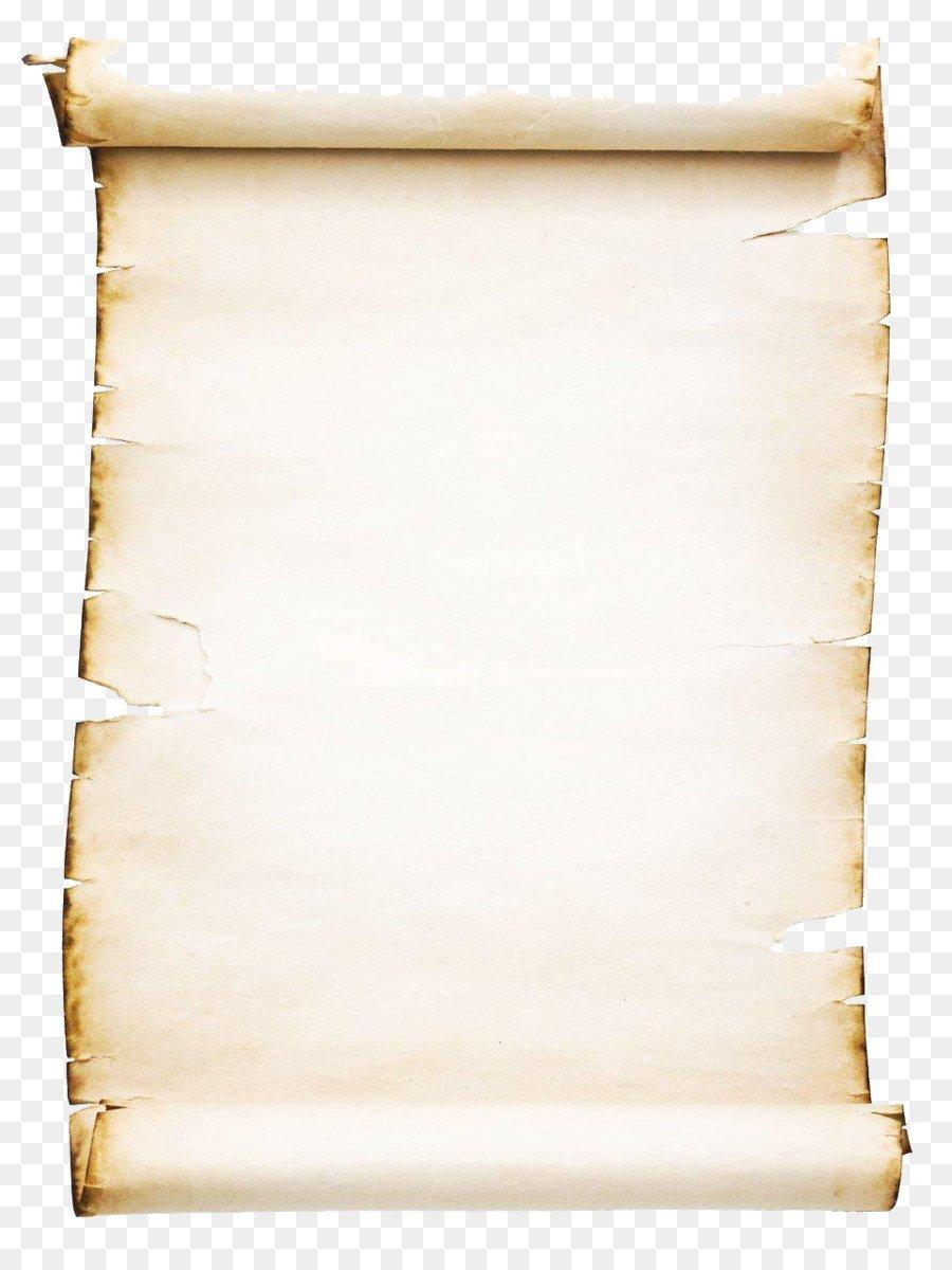 Фон свиток из старой бумаги