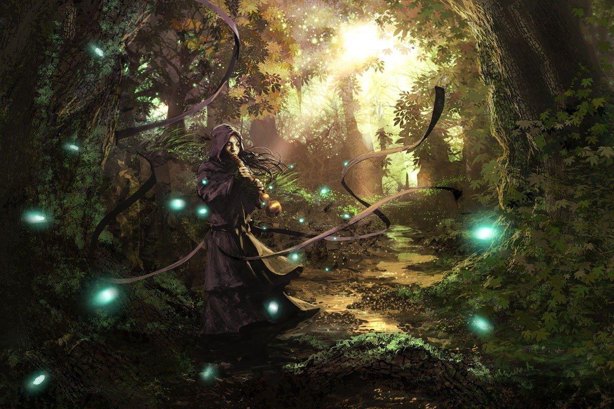 Магический ритуал арт
