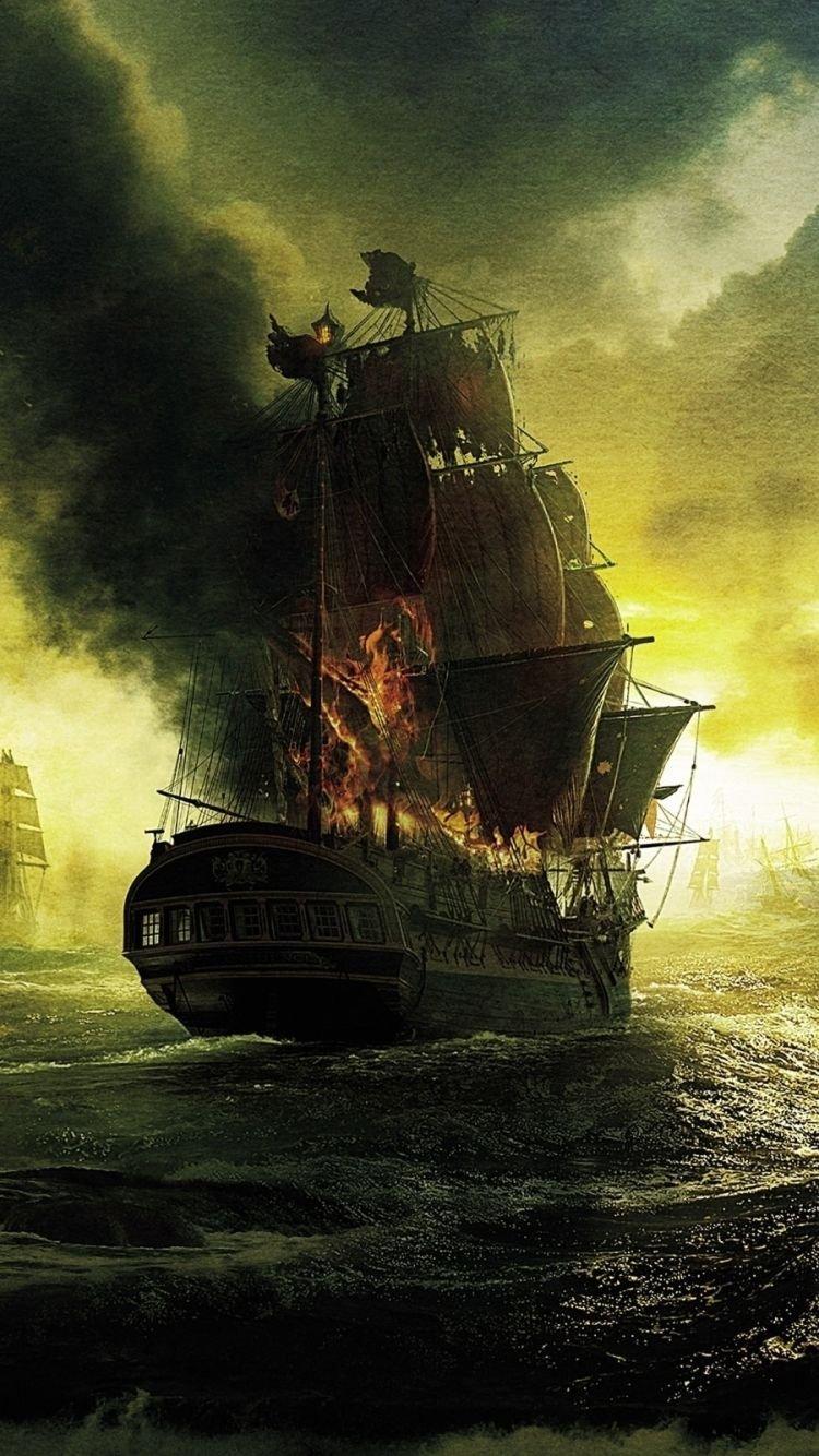 Чёрная Жемчужина пираты Карибского моря арт