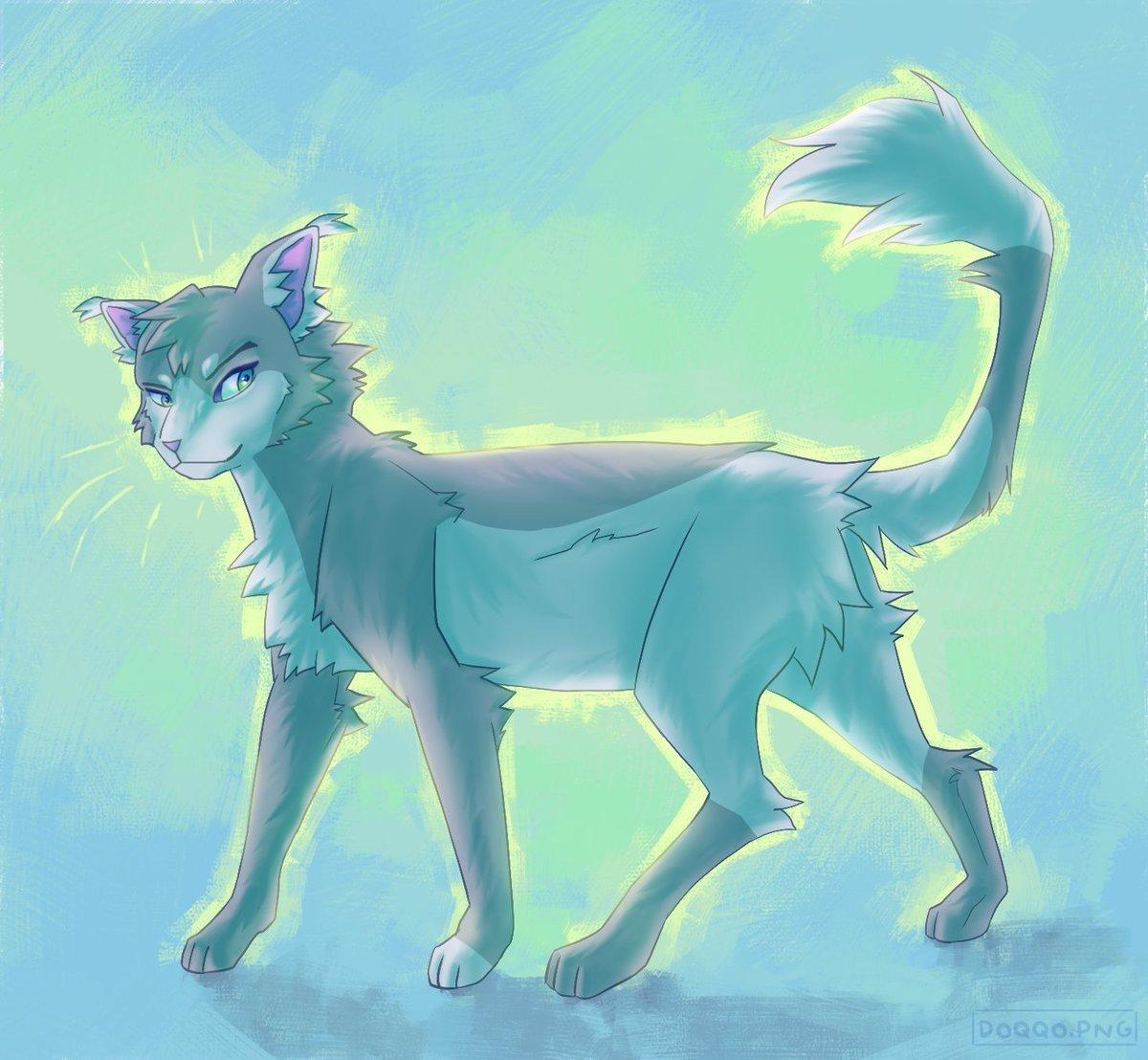 Темнохвост коты Воители арт