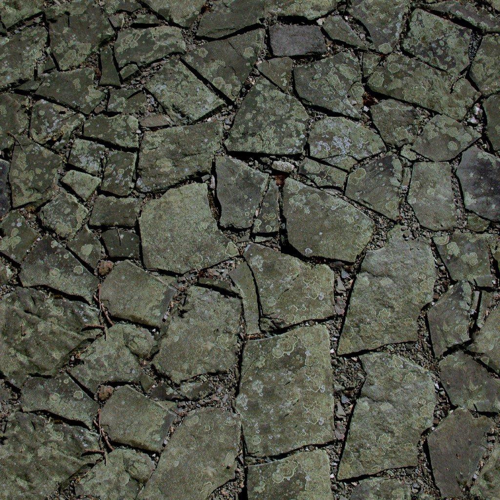 Каменная дорожка текстура бесшовная