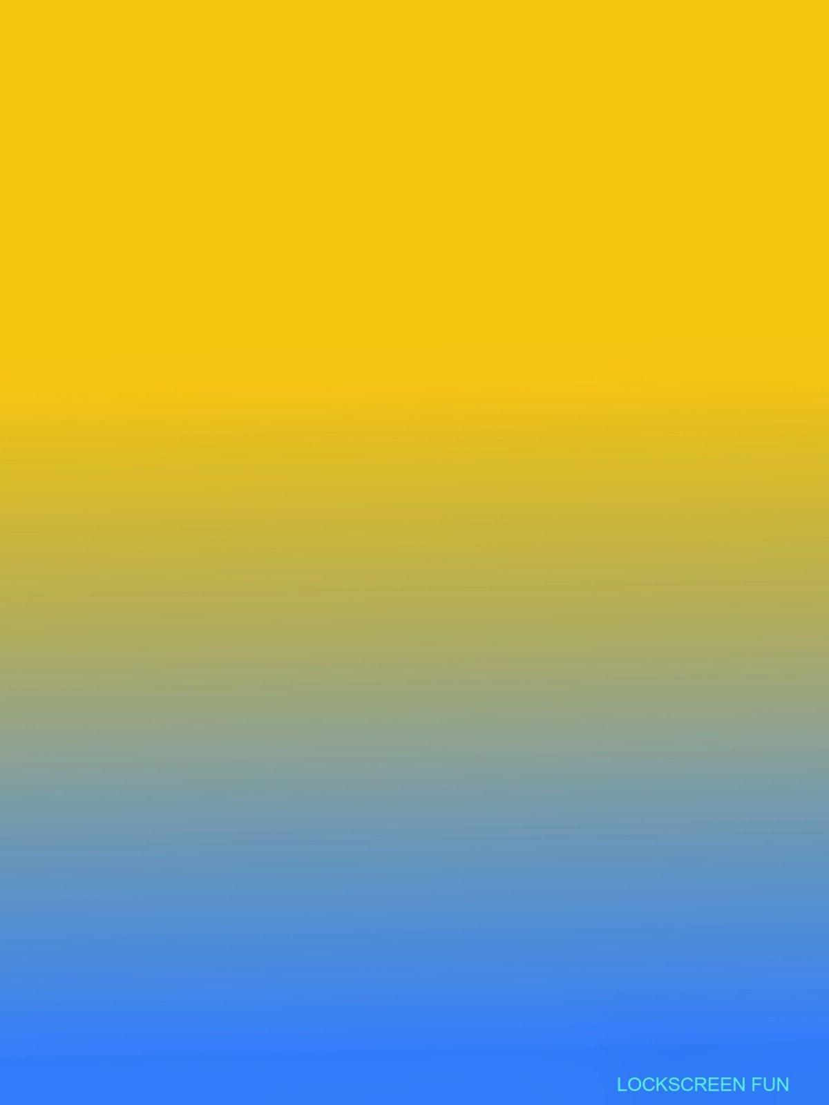 Фон градиент синий желтый