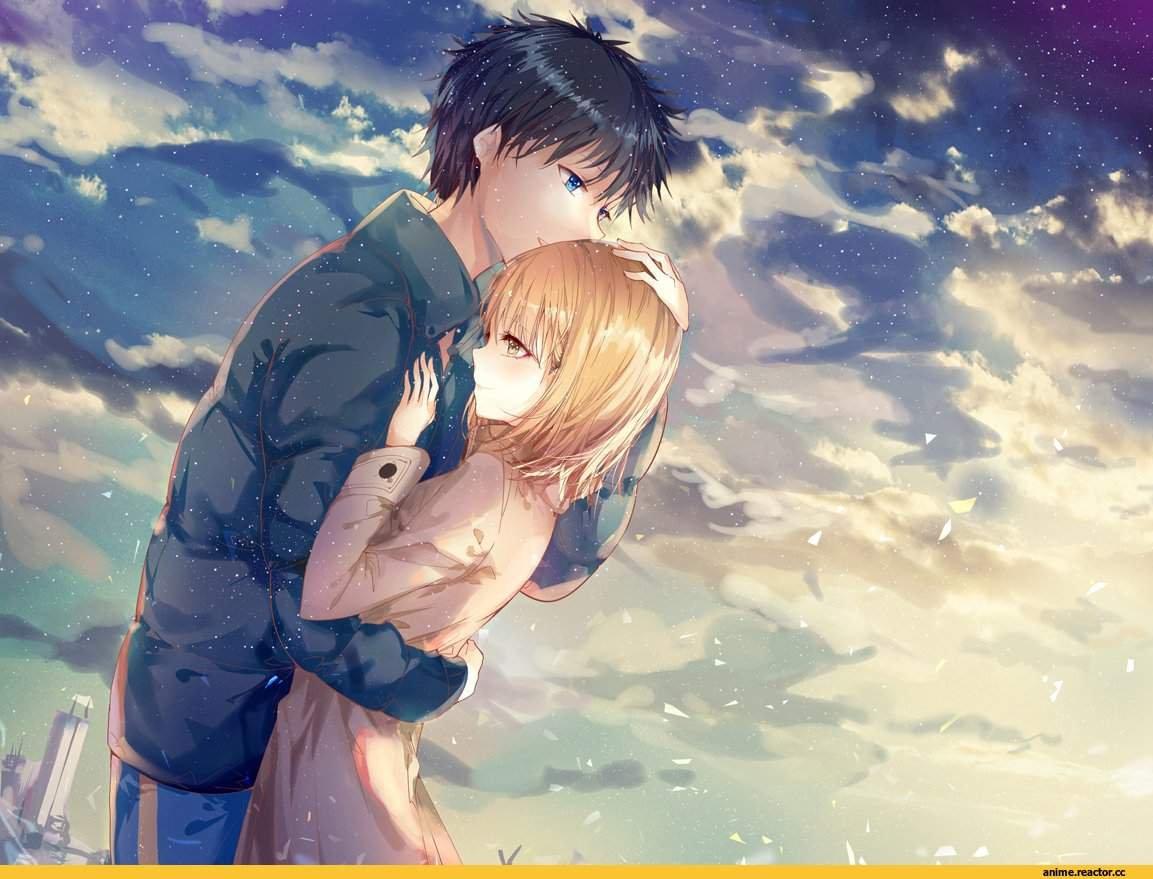 Счастливые аниме пары