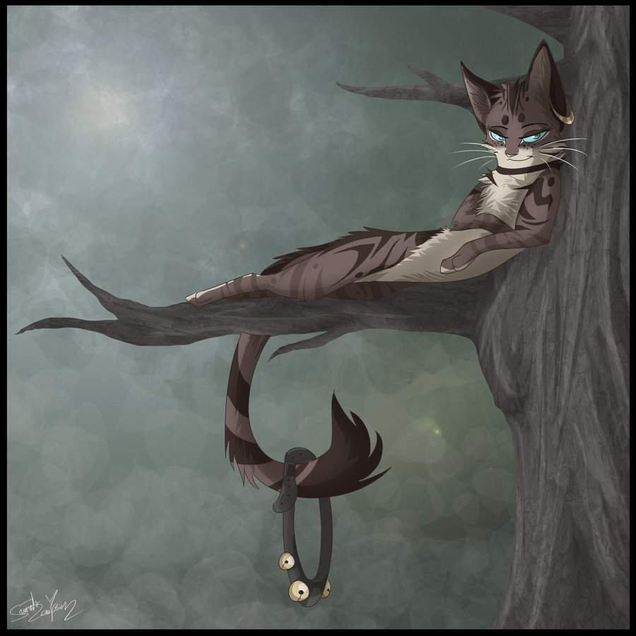 Серое крыло коты Воители арт