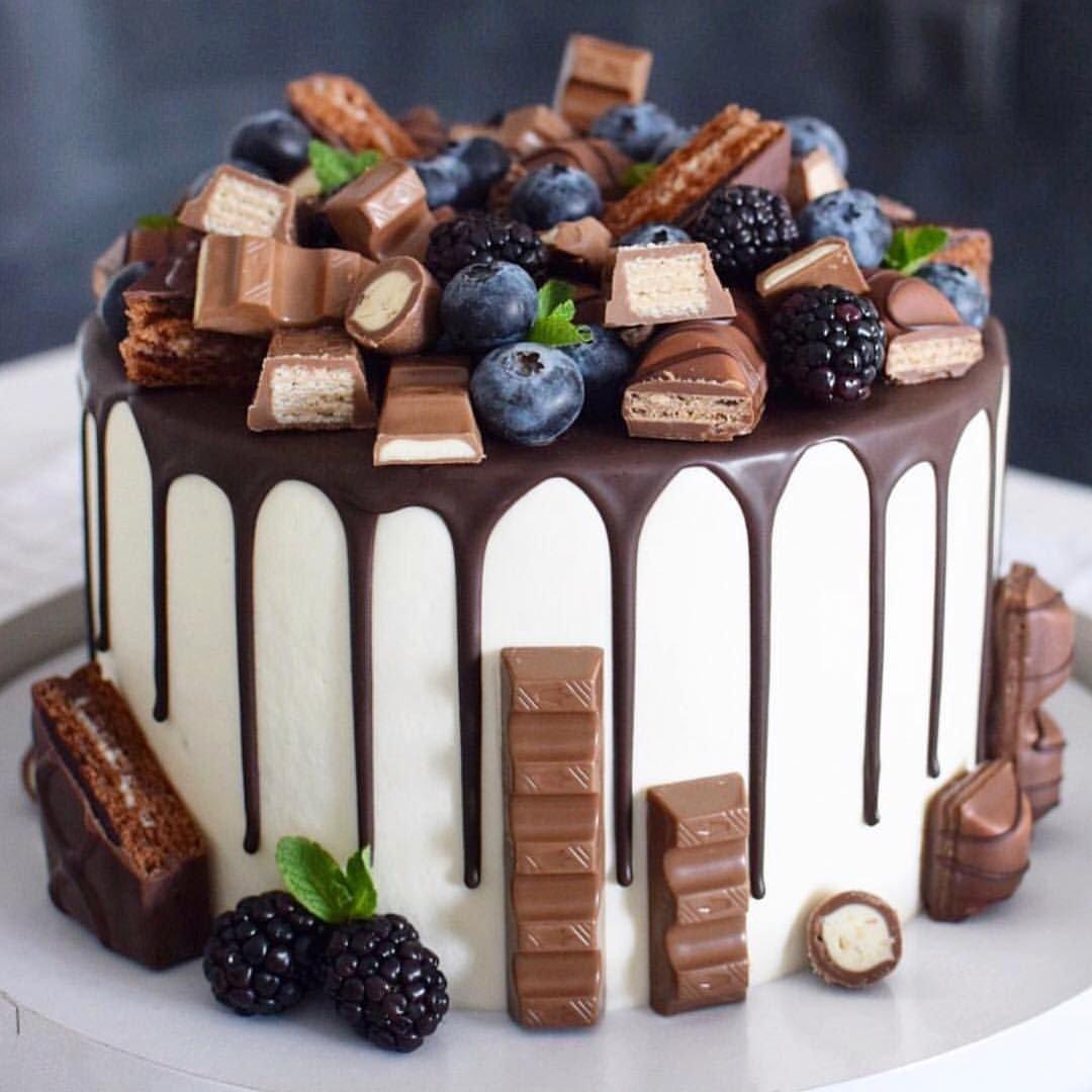 Идеи украшения торта