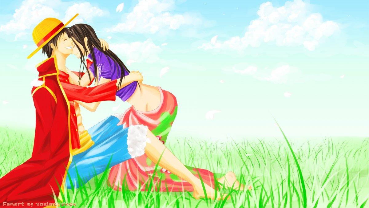 Robin luffy x Luffy x